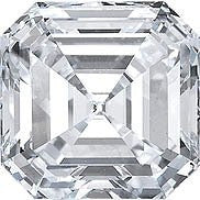 1.01CT F VS2 EGL CERTIFIED LOOSE ASSCHER CUT DIAMOND