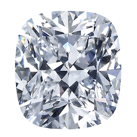 2.50CT H VVS2 GIA CERTIFIED INSCRIBED MODIFIED CUSHION CUT LOOSE DIAMOND