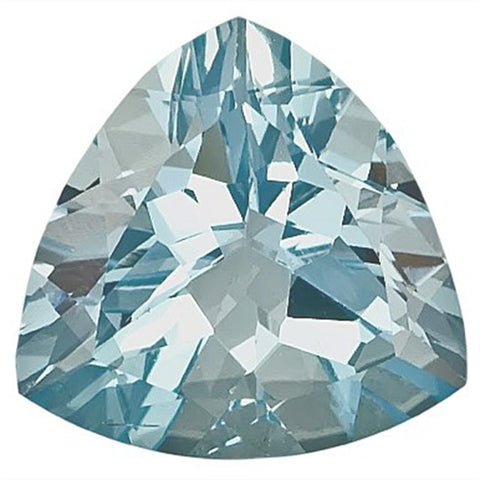 Click to view Trillion shape Aquamarine loose Gemstones variation