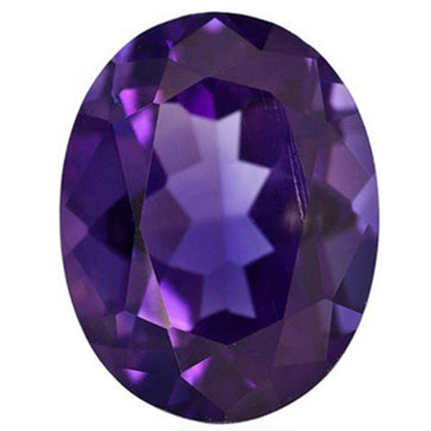 Click to view Oval shape Amethyst loose Gemstones variation