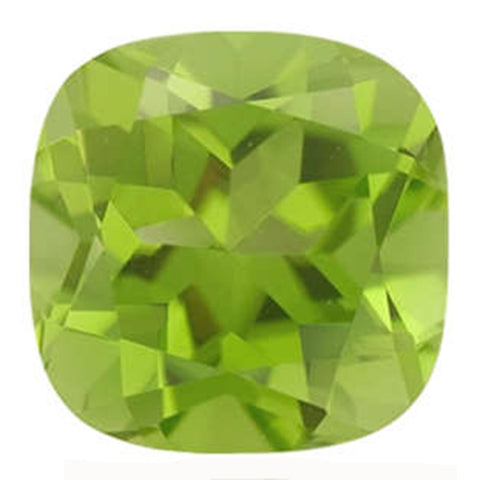 Click to view Cushion Cut Peridot loose stones variation