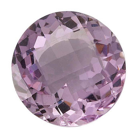 Click to view Round Brilliant Cut Pink Amethyst Loose Gemstones variation