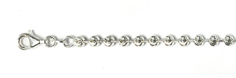 "400-4MM Moon Cut Chain Made in Italy Available in 8""-30"" inches"