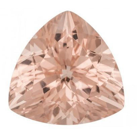 Click to view Trillion shape morganite loose Gemstones variation