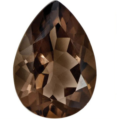 Click to view Pear Shape Smoky Topaz Loose Gemstones variation