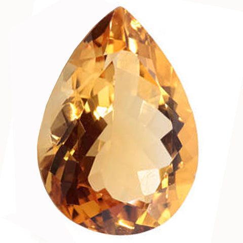 Click to view Pear Shape Citrine Loose Gemstones variation