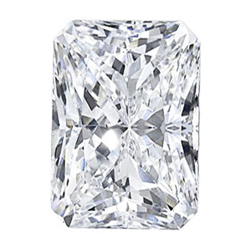 2.72CT F SI1 GIA CERTIFIED RADIANT CUT LOOSE DIAMOND