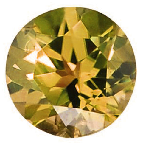 Click to view Round Brilliant Cut Olive Loose Gemstones variation