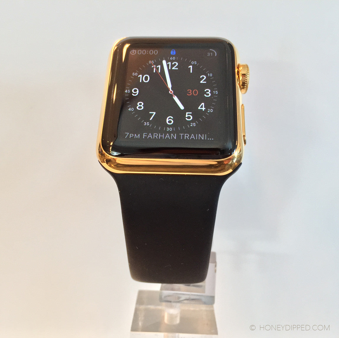 New 24K Gold Apple Watches in 38mm and 42mm