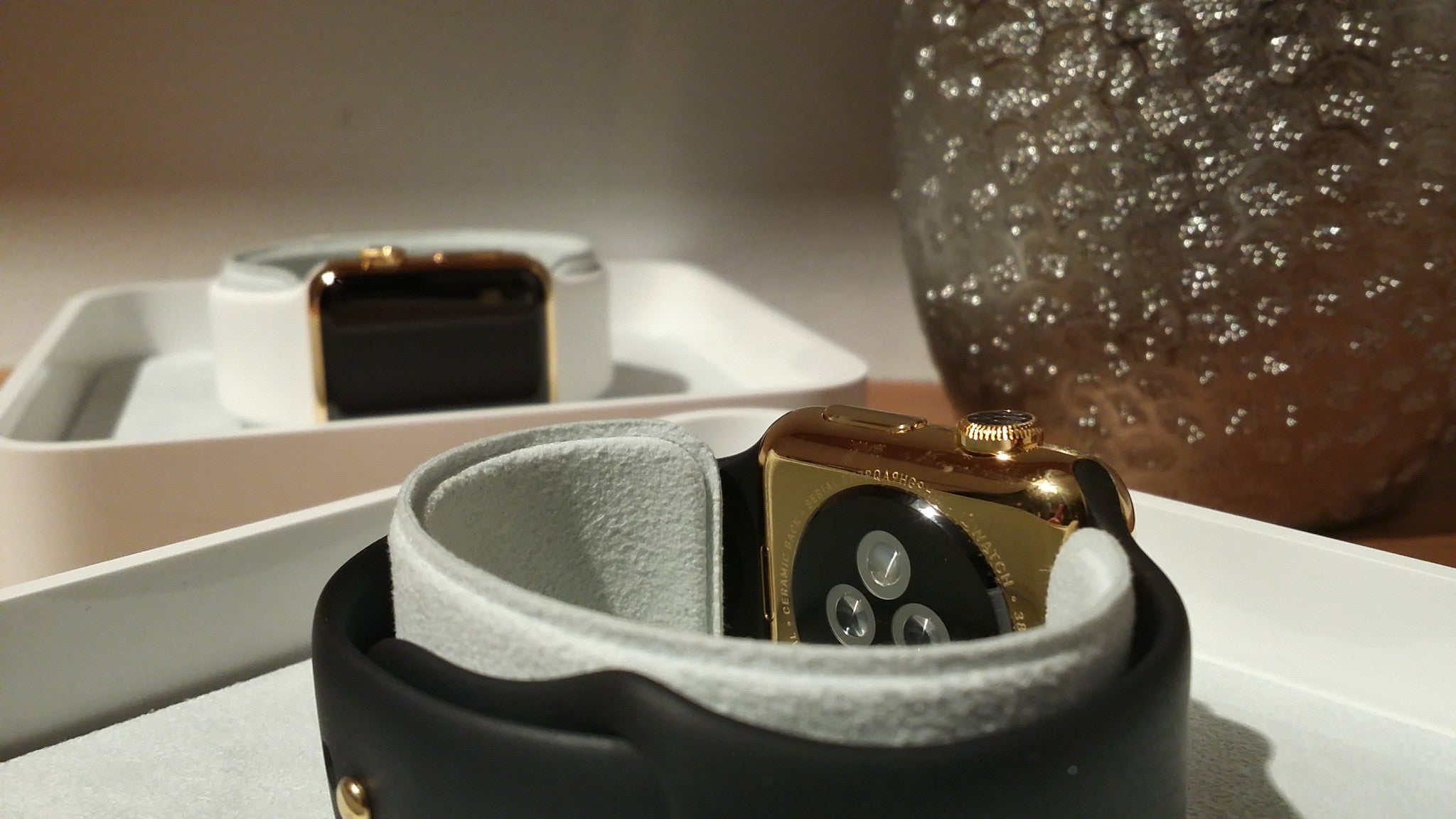 CUSTOM APPLE WATCH GOLD PLATING SERVICES