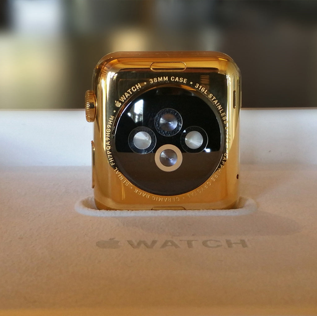 24k Gold Plated Apple Watch (Sports Band Edition)