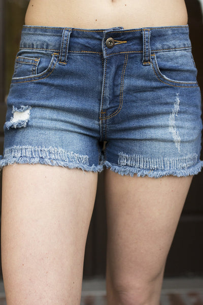 Frayed Me Not Shorts