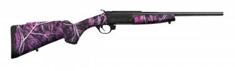 Traditions CRACKSHOT 22LR MDY GIRL 16.5 - CR220079 - Blued 22 LR 16.5""