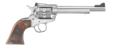 "Ruger SINGLE SIX 22-22MAG SS/WD 6.5 - 0676 - Stainless 22 LR | 22 Magnum 6.5"" 6 rd."