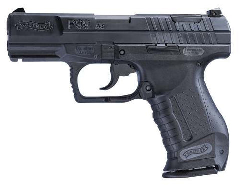 "Walther P99AS 9MM BLACK 10+1 - 2796326 - Matte Blue 9mm 4"" 10+1"