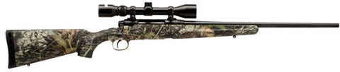 Savage AXIS 7MM-08 BL/CAMO DBM PKG - 19200 - Matte Black 7mm-08 22""