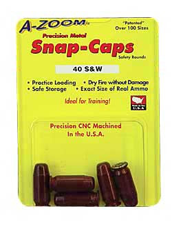 A-Zoom Snap Caps - 15114 -  40SW