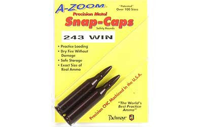 A-Zoom Snap Caps - 12223 -  243WIN