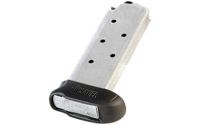 Sig Sauer Magazine - MAG-238-380-7-X - Stainless 380ACP 7Rd