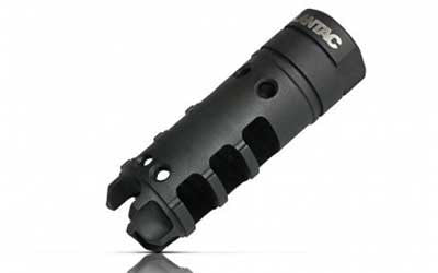 LanTac USA LLC Dragon Muzzle Brake - DGN762B - Nitride 308 Win