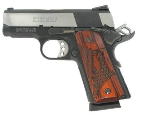 "Smith & Wesson SW1911 PRO 45ACP TWO-TONE 3 - 178052 - Two-Tone 45 ACP 3"" 7+1"