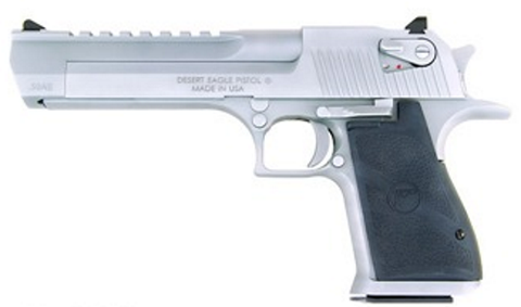 "Magnum Research DESERT EAGLE 357M MT CHROME - DE357MC - Matte Chrome 357 Magnum 6"" 9+1"