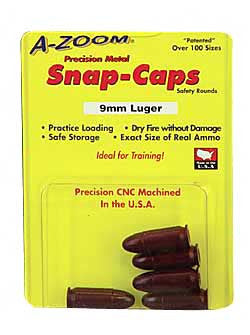 A-Zoom Snap Caps - 15116 -  9MM