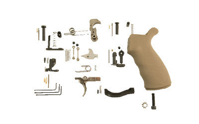 Spike's Tactical Enhanced Lower Receiver Parts Kit - SLPK302 - Flat Dark Earth