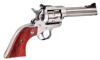 "Ruger SINGLE SIX 22-22MAG 4-5/8SS AS - 0627 - Stainless 22 LR | 22 Magnum 4 5/8"" 6"