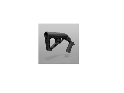 Slide Fire Solutions SLIDE FIRE SSAR-15 SBS LH BLK - 10-0201-00 - Black