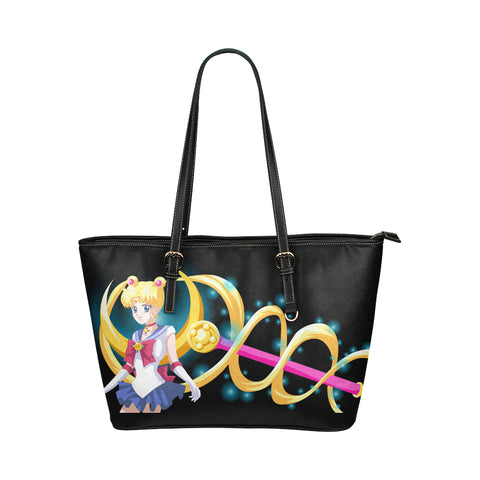 Sailor Moon Leather Tote Bag