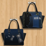Dr. Who Black Purse
