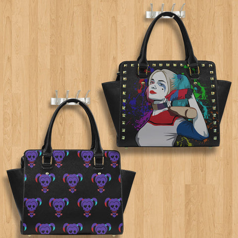 Harley Quinn Black Purse