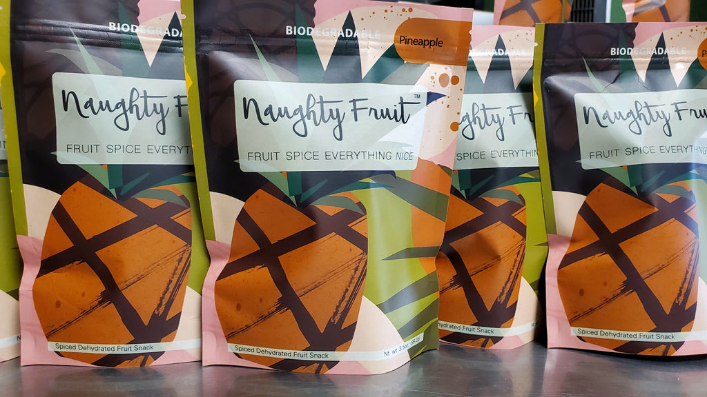 Pineapple Dried Fruit Bio-Bags