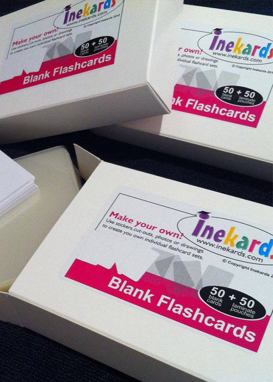 Blank Flashcards