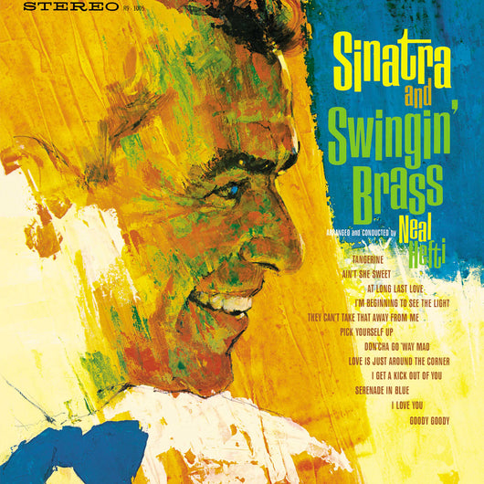 Sinatra and Swingin' Brass LP