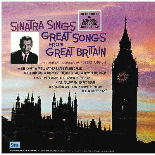 Sinatra Sings Great Songs from Great Britain LP