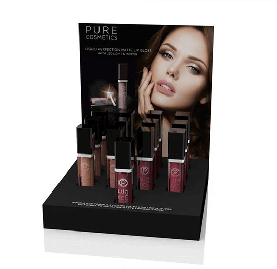 Liquid Perfection Matte Lip Gloss Display