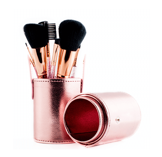 12-Piece Professional Glitter Brush Set