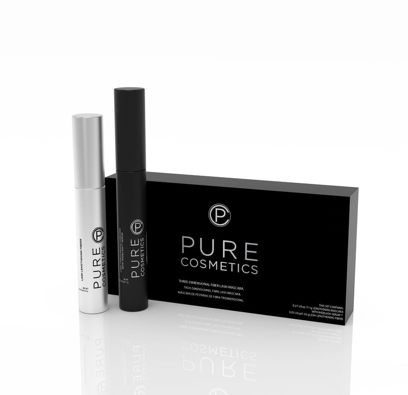 Pure Cosmetics Three-Dimensional Fiber Lash Mascara