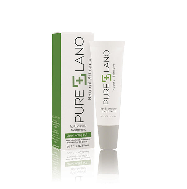 Pure Lano Natural Lip & Cuticle Treatment.