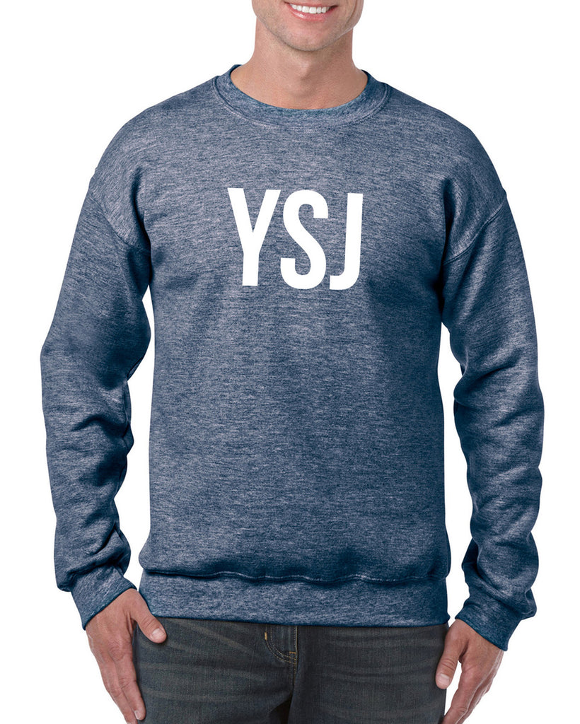 YSJ Sweatshirt - Heather Navy