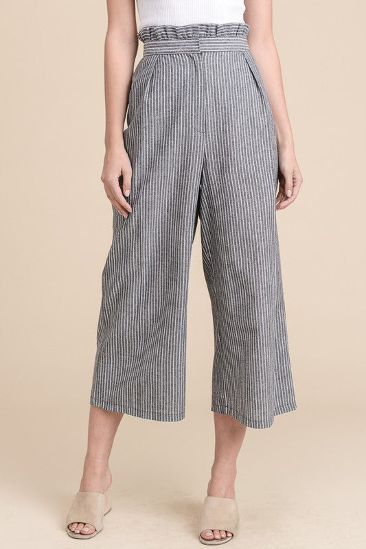 High Rise Cropped Pants