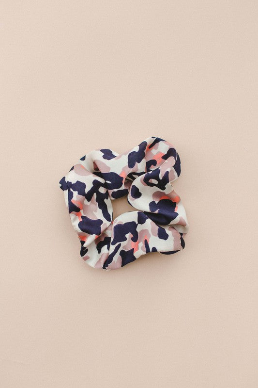 Multi Camo Scrunchie
