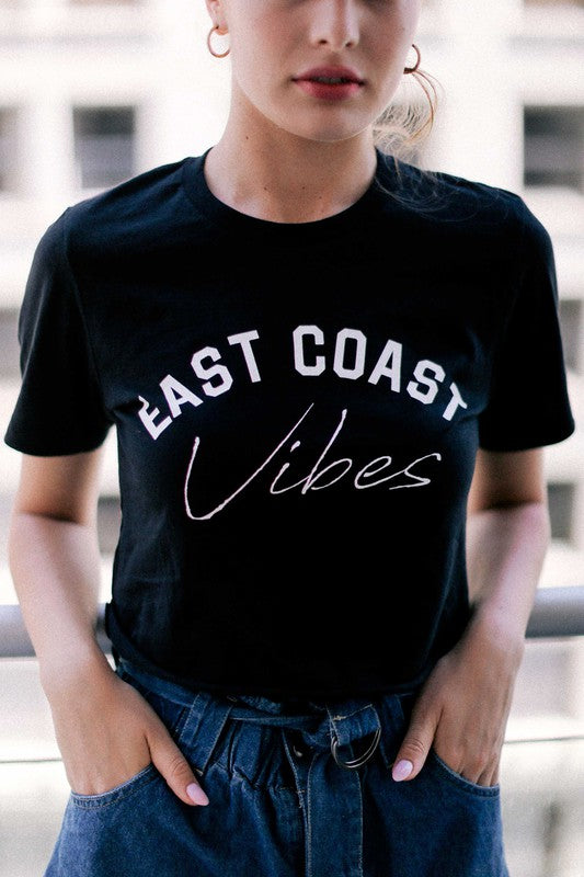 East Coast Vibes Graphic T-Shirt