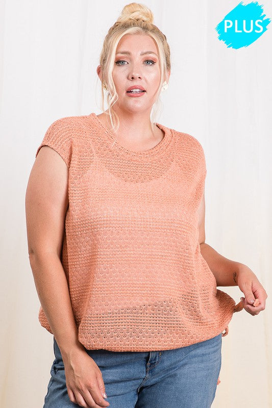 Light Weight Sweater (Plus Size)