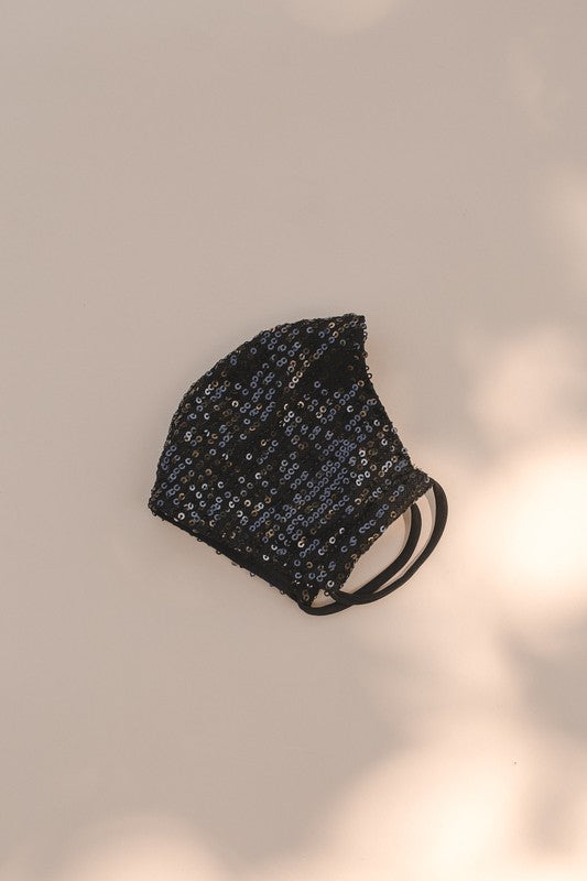 Sequin Adult Face Mask