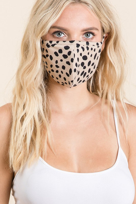 Spotted Face Mask