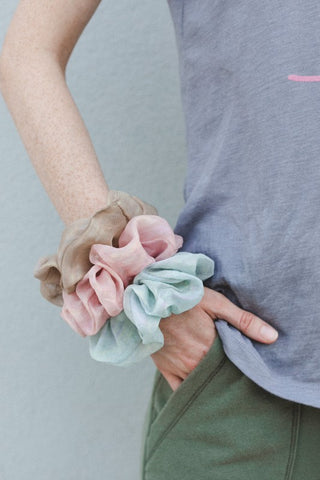 Mermaid Chiffon Scrunchie
