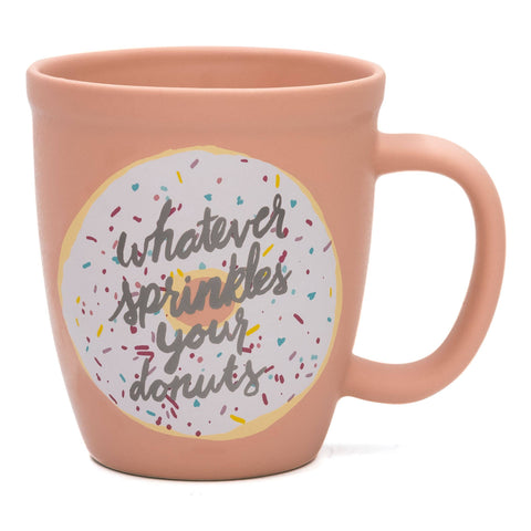 Sprinkles Your Donuts Stoneware Mug